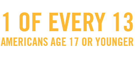 Experts predict that approximately 1 of every Americans age 17 or younger will die early from a smoking-related illness