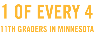 1 of every 4 11th graders in Minnesota said they vaped in the past 30 days