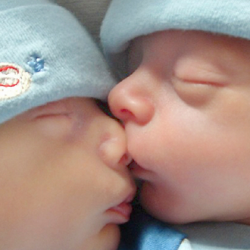 Minnesota Twins players with hospital gowns