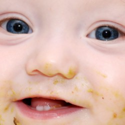 Solid foods for infants
