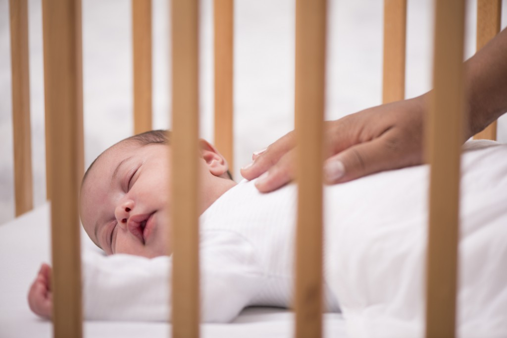 Babies should sleep alone, on their back and in a crib. (iStock photo)