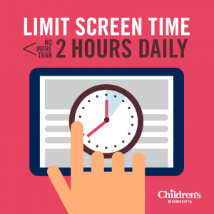 screen time health tips