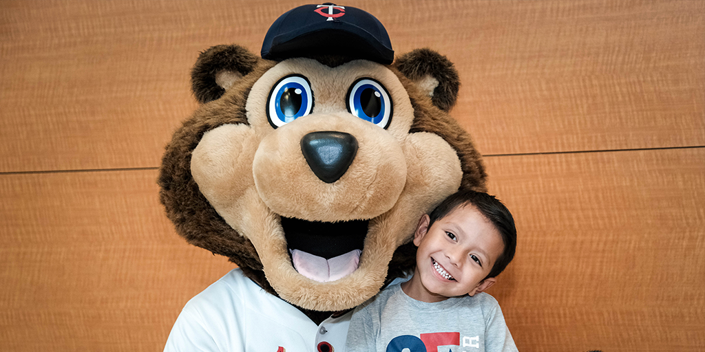 T.C. Bear with child