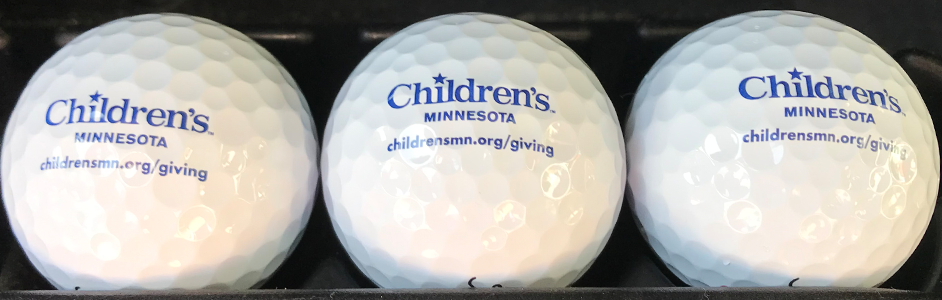 Children's branded golf balls
