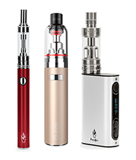 Examples of tank vape devices