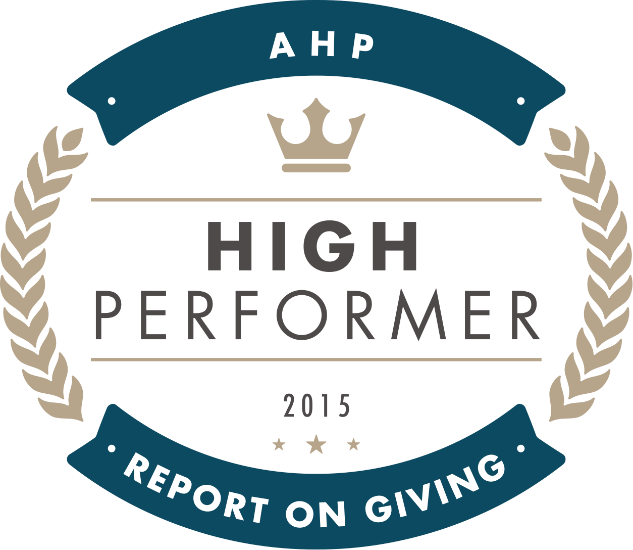 2015 AHP Report on giving High Performer