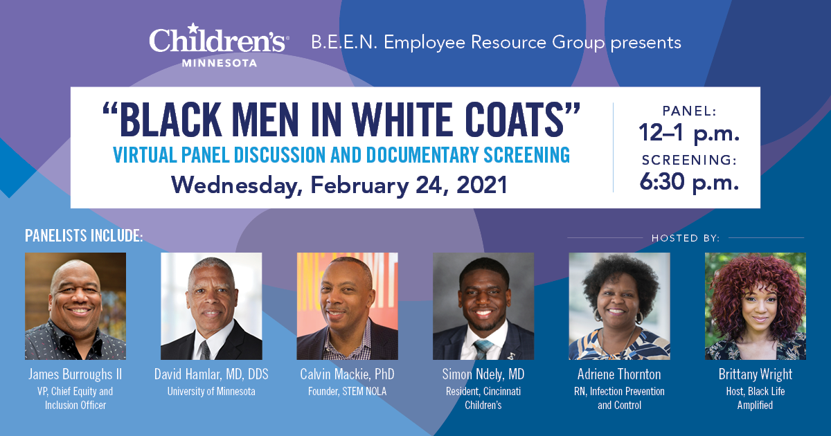 """Black Men in White Coats"" panel: Why representation in health care and STEM is important"