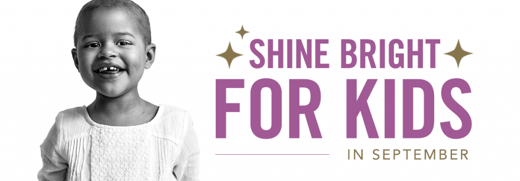 "Related image for article, ""Shine Bright for Kids in September""."