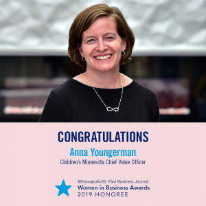 Anna Youngerman wins business award.