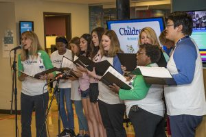 Children's Minnesota Choir at the San Diego Zoo Kids channel event