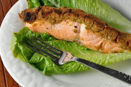 valentines day - salmon