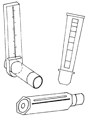 A Peak Flow Meter Is Used To Check Your Child S Asthma As Thermometer Temperature During An Episode The Airways In Lungs